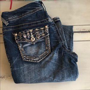 Ariya Pants - Ariya bootcut, embellished jeans